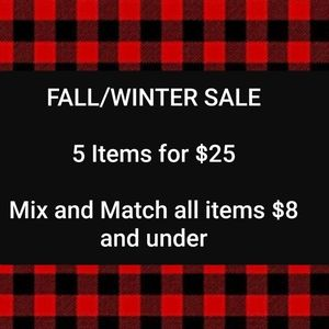 Accessories - 🌲 5 for $25 sale 🌲
